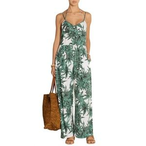 Mara Hoffman Harvest Leaves Printed Jumpsuit